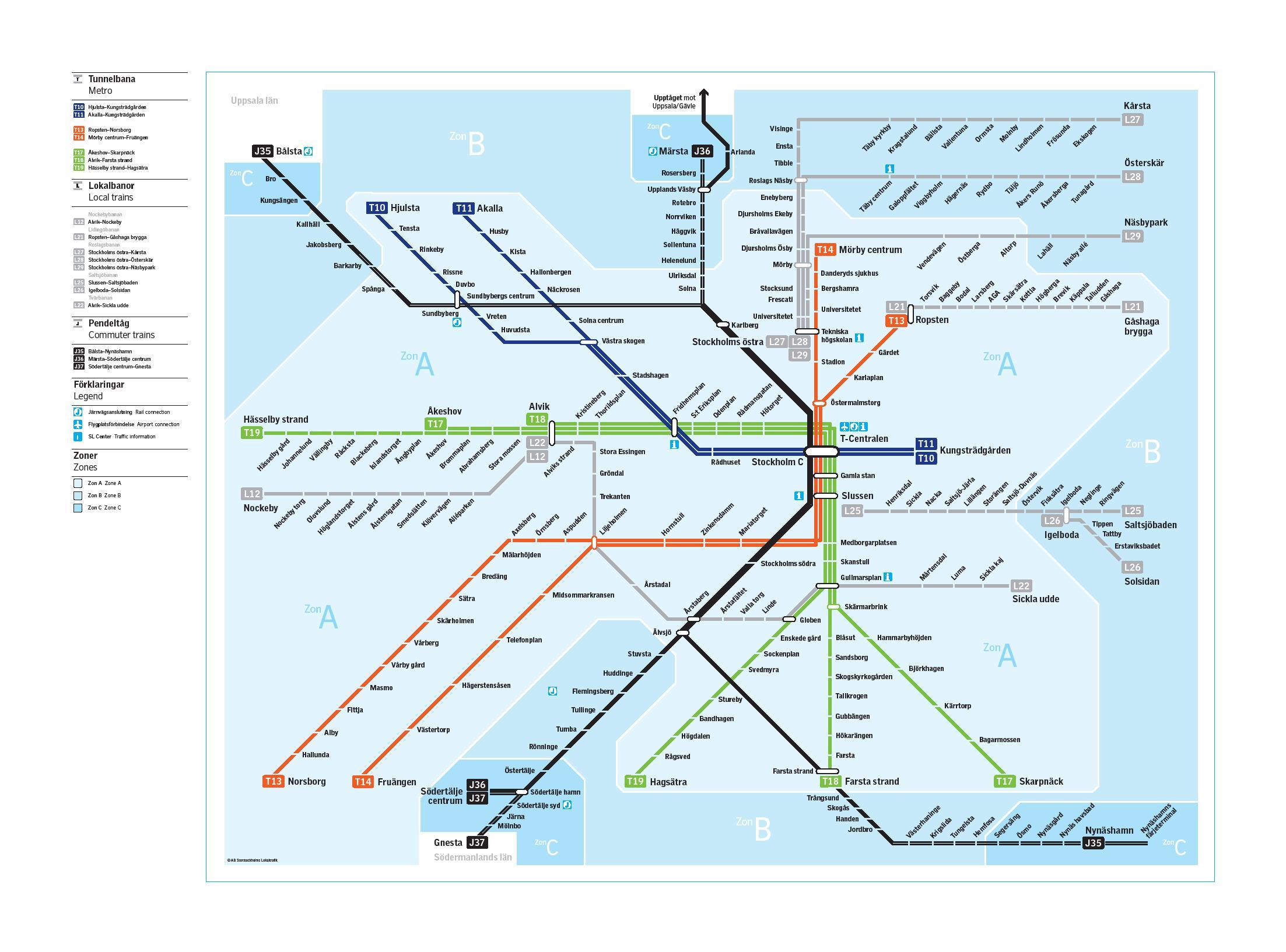 pendeltåg karta stockholm Stockholm subway #infographic #maps | Infographics & infographics pendeltåg karta stockholm